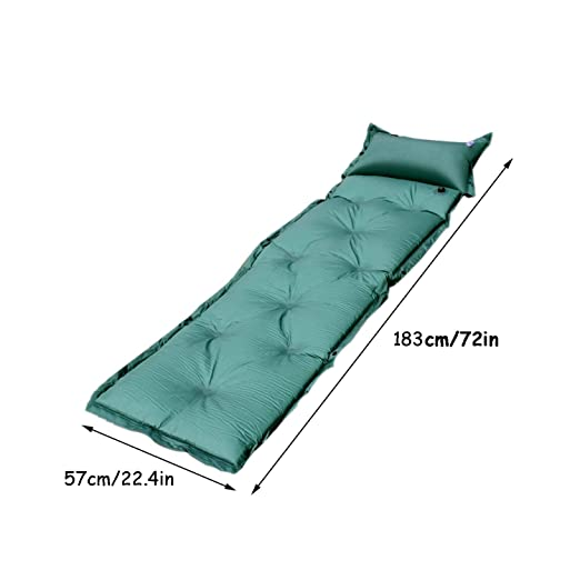 LiRongPing Colchón Inflable para Acampar, colchón Inflable ...