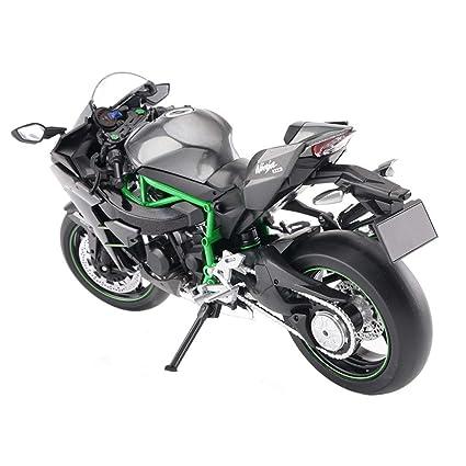 Amazon.com: SXZHSM-Model car Motorcycle Model Kawasaki H2R ...