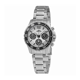 Invicta Pro Diver Lady Chronograph Silver Dial Ladies Watch 25746