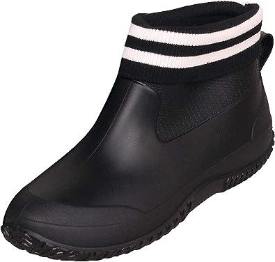 Zapatos de Lluvia para Mujer Hombres Impermeable Zapatos de Jardin Antideslizante Botines de Goma de Trabajo Calentar Botas Invierno Talla 35-44: Amazon.es: Zapatos y complementos