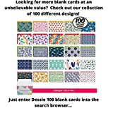 Dessie 50 Blank Cards With Envelopes - Set of 50