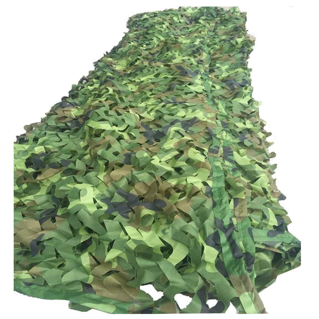 ジャングルカモフラージュネット屋外空撮CSシミュレーション日焼け止めキャンプ抗UV通気性折りたたみテーマホテルバー装飾目に見えないネット (サイズ さいず : 4*5m) 4*5m  B07QLV87YF