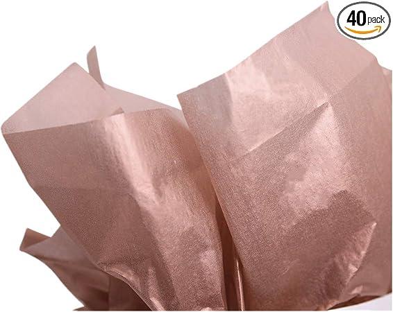 Bulk 10 Sheets Premium Gift Wrap and Art Suppli Blue Haze Tissue Paper Squares