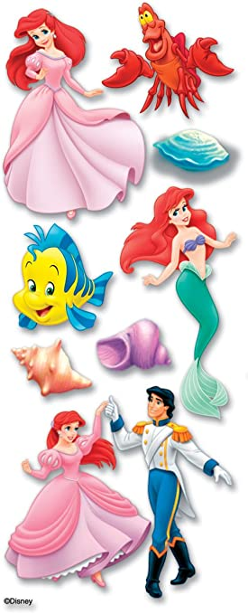Holographic Little Mermaid Vinyl Sticker