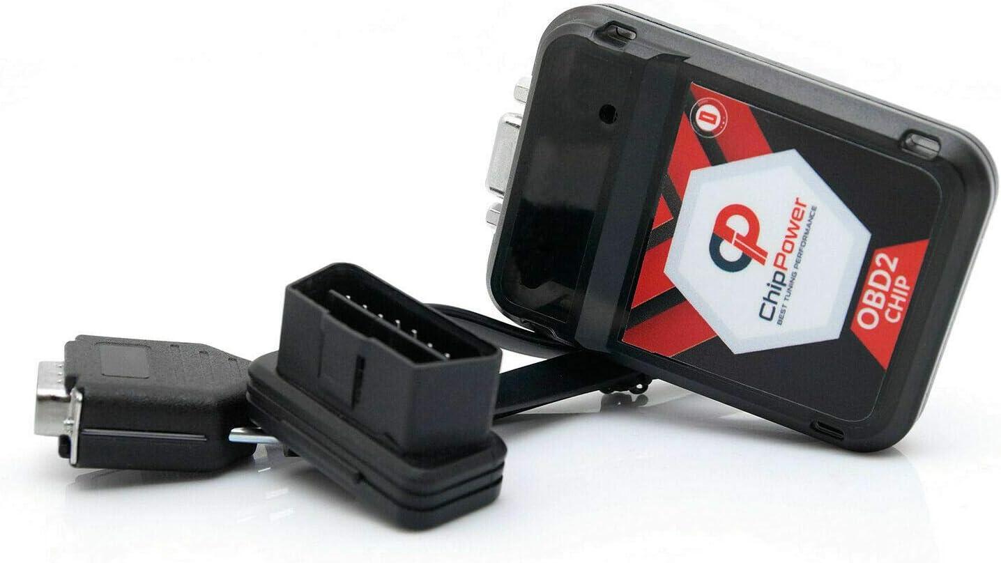 Chiptuning ChipPower OBD2 v3 f/ür Tiguan I 2.0 TDI 140 PS Chip Tuning Diesel 5N