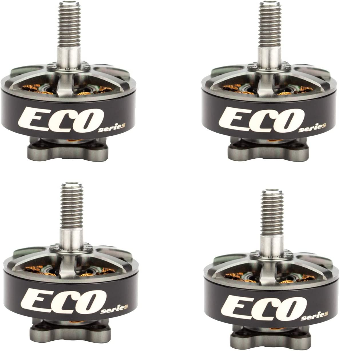 B07T717JCC Crazepony 4pcs Emax ECO2306 1700KV 3-6S Brushless Motor for RC Drone FPV Racing 61PDfZU1RaL