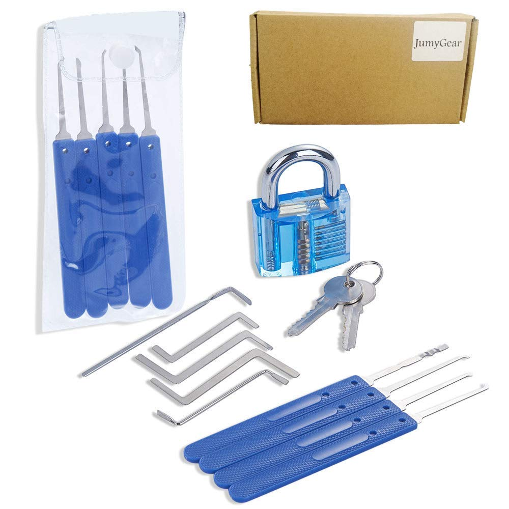 Repair Pick Set Accessories with Wrench Training Kit for Beginners and Professionals by JumyGear (Image #4)