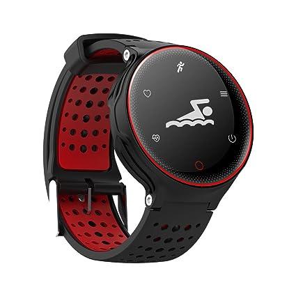 Super Smart Watch X2 Deportes Salud Pulsera IP68 Impermeable Bluetooth Versión 4.0 Puede Medir Presión Arterial, Oxígeno en Sangre, Dinámica de la ...
