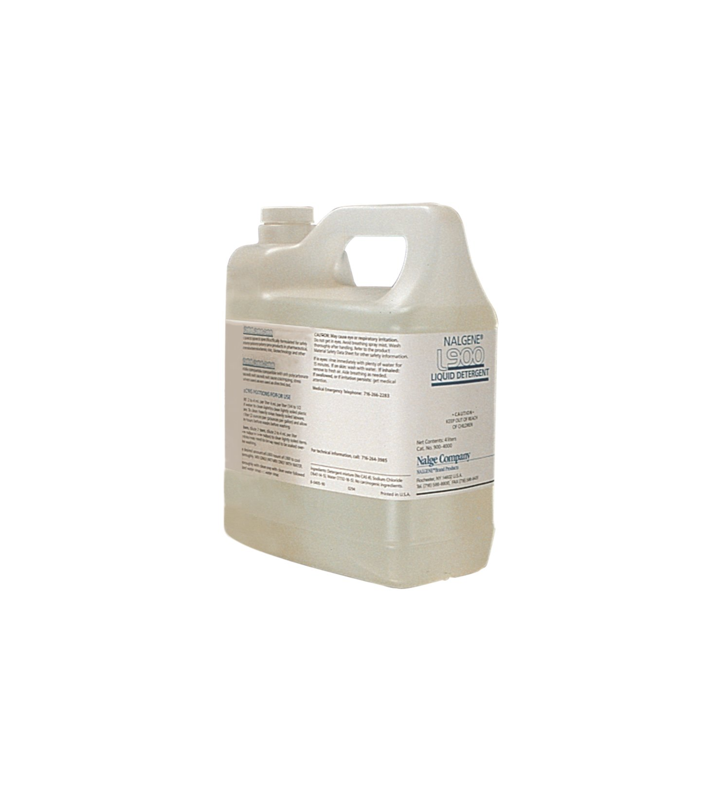 Nalgene L900 Liquid Detergent, 4L Capacity (Case of 4)