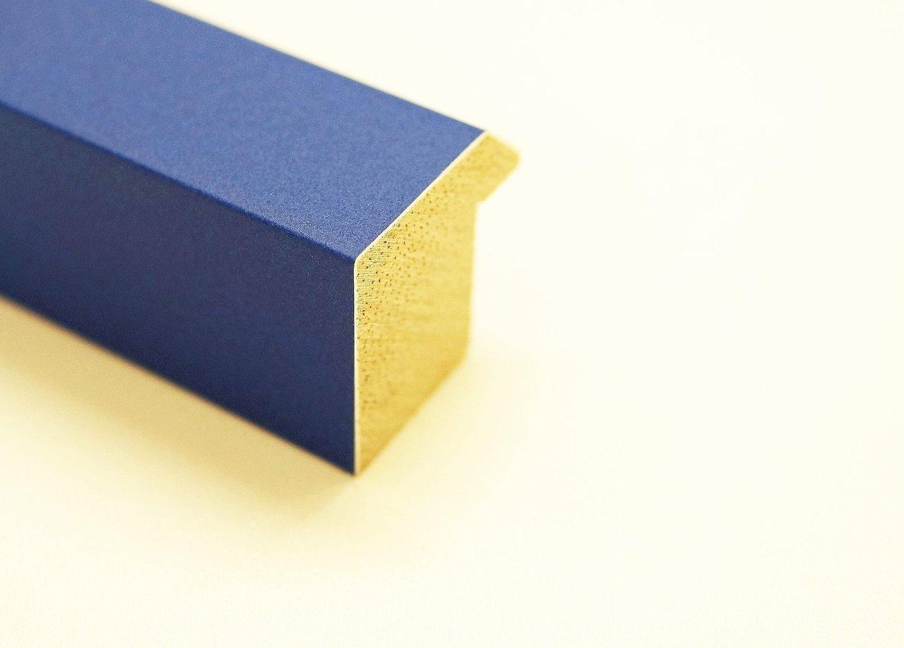 Amazon.de: Bilderrahmen Heilsbronn Samtlack azur - blau 3, 0 ...