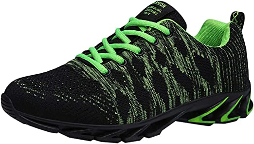 refulgence Womens Outdoor Sneakers Leisure Mesh Slip-On Sports Shoes Run Breathable Gym Shoes