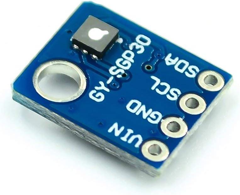 D/étecteur de formald/éhyde COV et eCO2 Voc et capteur de qualit/é de lair Eco2 Ballylelly SGP30 Module de capteur de qualit/é de lair