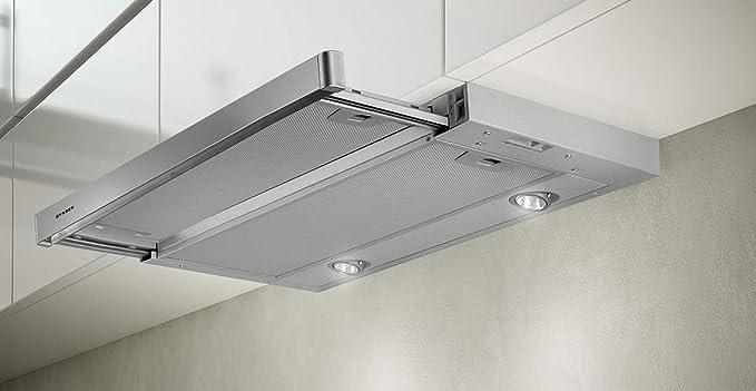 Faber Maxima - Campana extractora empotrable (aluminio metalizado, frontal de acero, 90 cm): Amazon.es: Grandes electrodomésticos