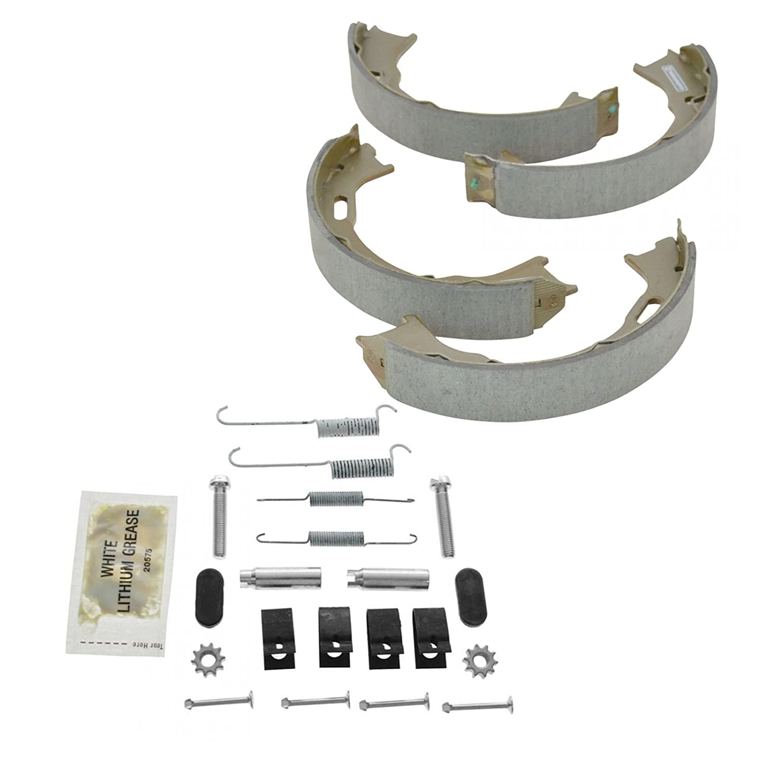 Rear Parking Brake Shoes /& Hardware Kit Set for 93-98 Jeep Grand Cherokee