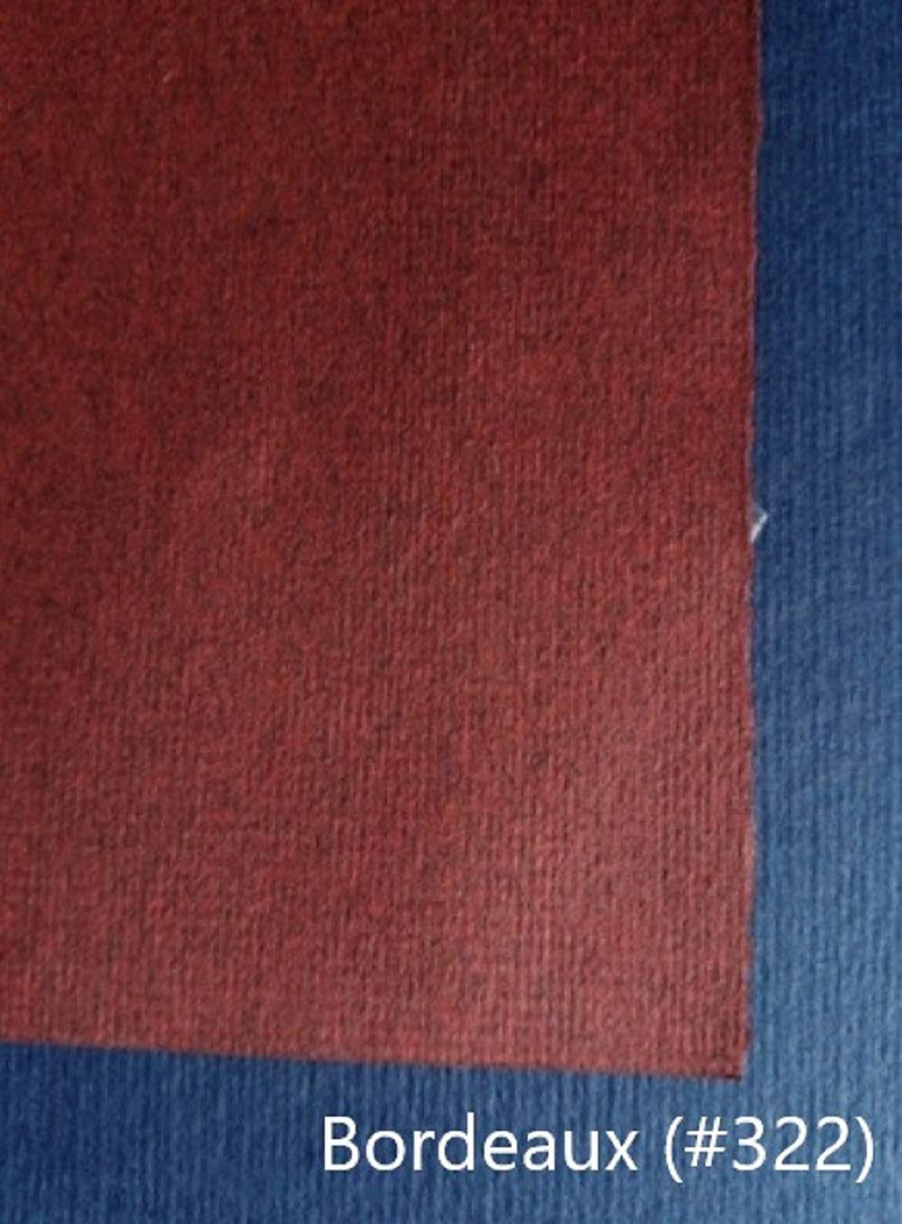 Bugra Paper Hahnemuhle, Bordeaux Burgandy # 322, 33'' x 41'', 130 GSM (10 Sheet Package) by Bugra Paper