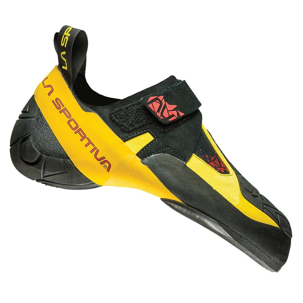 La Sportiva Men's Skwama Rock Climbing Shoe, Black/Yellow, 40 by La Sportiva