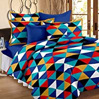 Story@Home 120 TC Cotton Single Bedsheet with Pillow Cover - Yellow