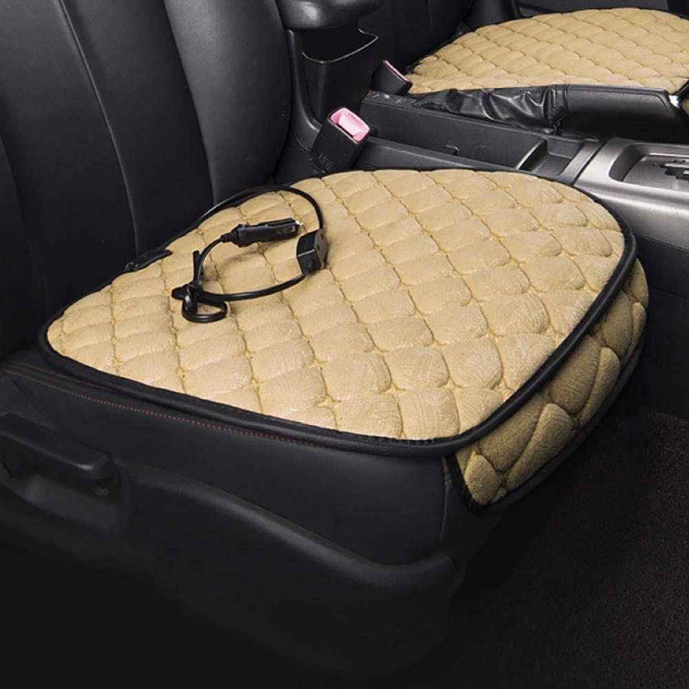 blue--net Car Heating Cushion Car Winter Warm Car Mat Car Universal Electric Heating Seat Cushion 12V Car Heating Cushion