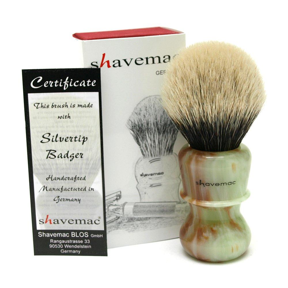 Shavemac 2 Band Silvertip Badger Shaving Brush RJ3