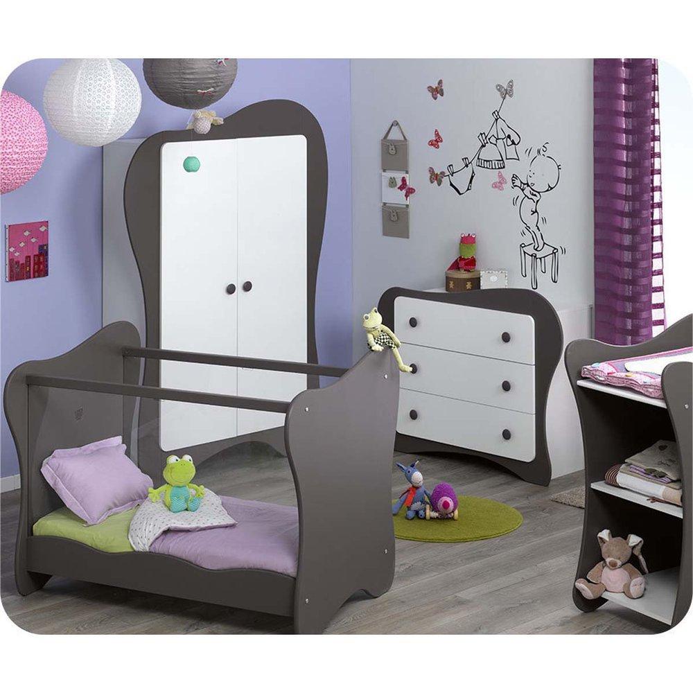 Babyzimmer komplett Iris weiß taupe