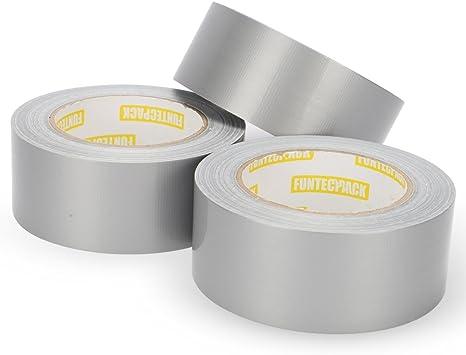 """Duct Tape Heavy Duty 3 Rolls 1.88/"""" x 60 yds ~ New"""