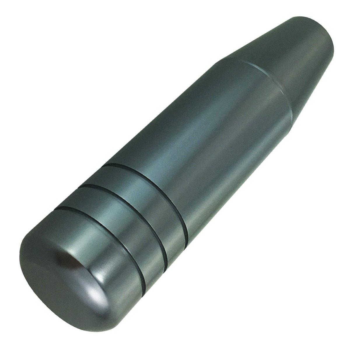 Abfer Universal Car Gear Stick Shifter Red Long Shift Knob Aluminum Automatic Knob Shifter Stick Shift Handle