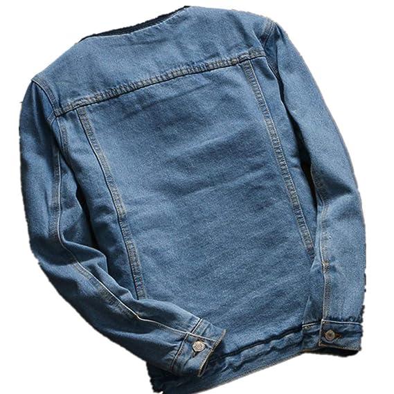 Amazon.com: Women Autumn Winter Denim Jacket Vintage Long Overcoat Outwear Loose Jean Coat: Clothing