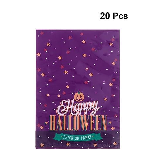 Amosfun 20 piezas bolsas de golosinas de halloween caja de ...