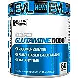Evlution Nutrition Glutamine 5000 5 Grams Of Pure Glutamine In Each Serving Unflavored Powder 60 Servings