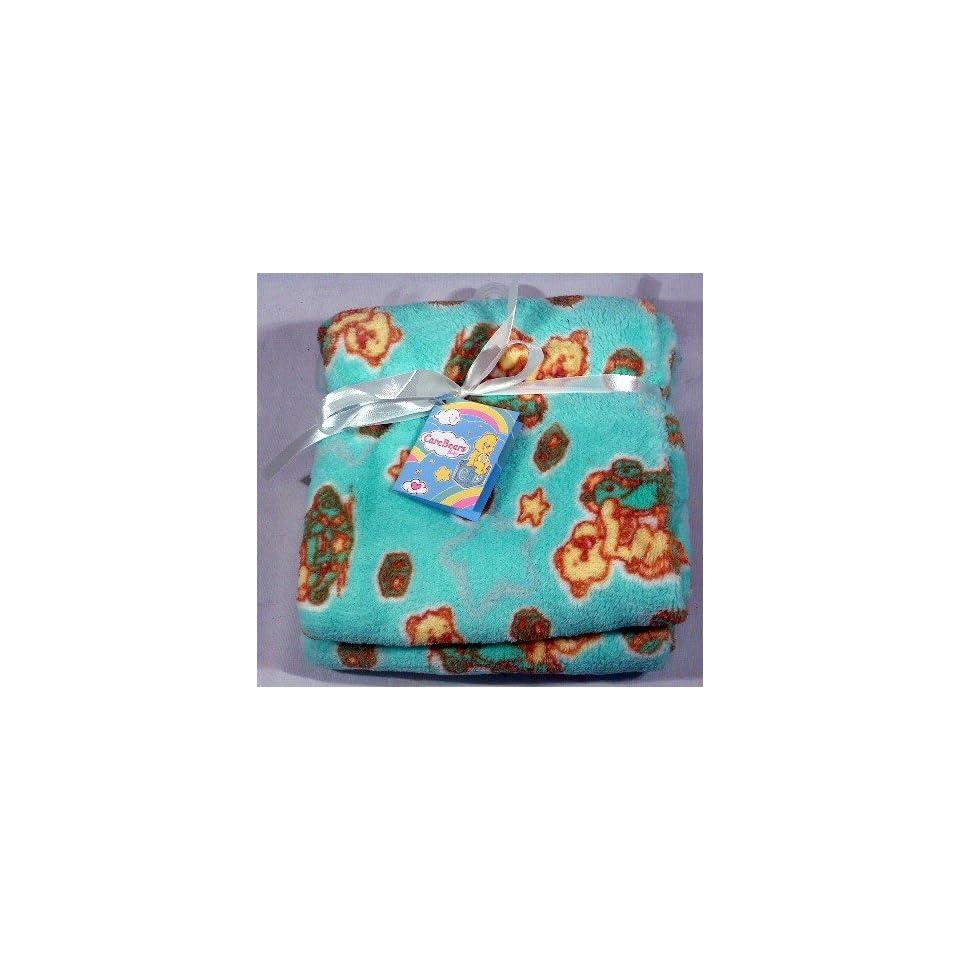 Care Bear Blanket GREEN (CB8200)