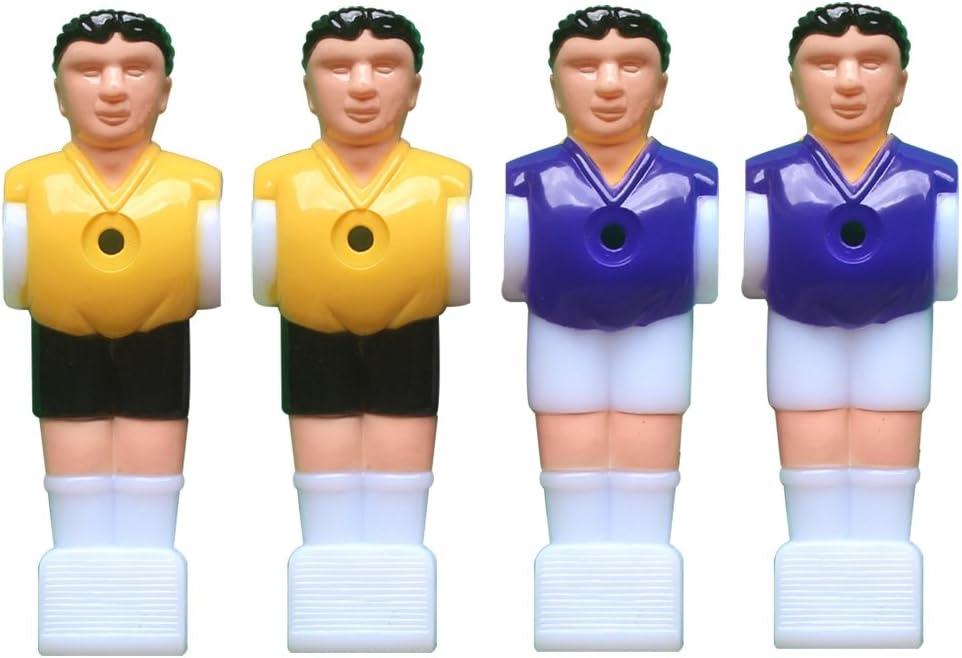 STOBOK 4 Piezas Jugador de Futbolín de Plástico para Futbolín de ...