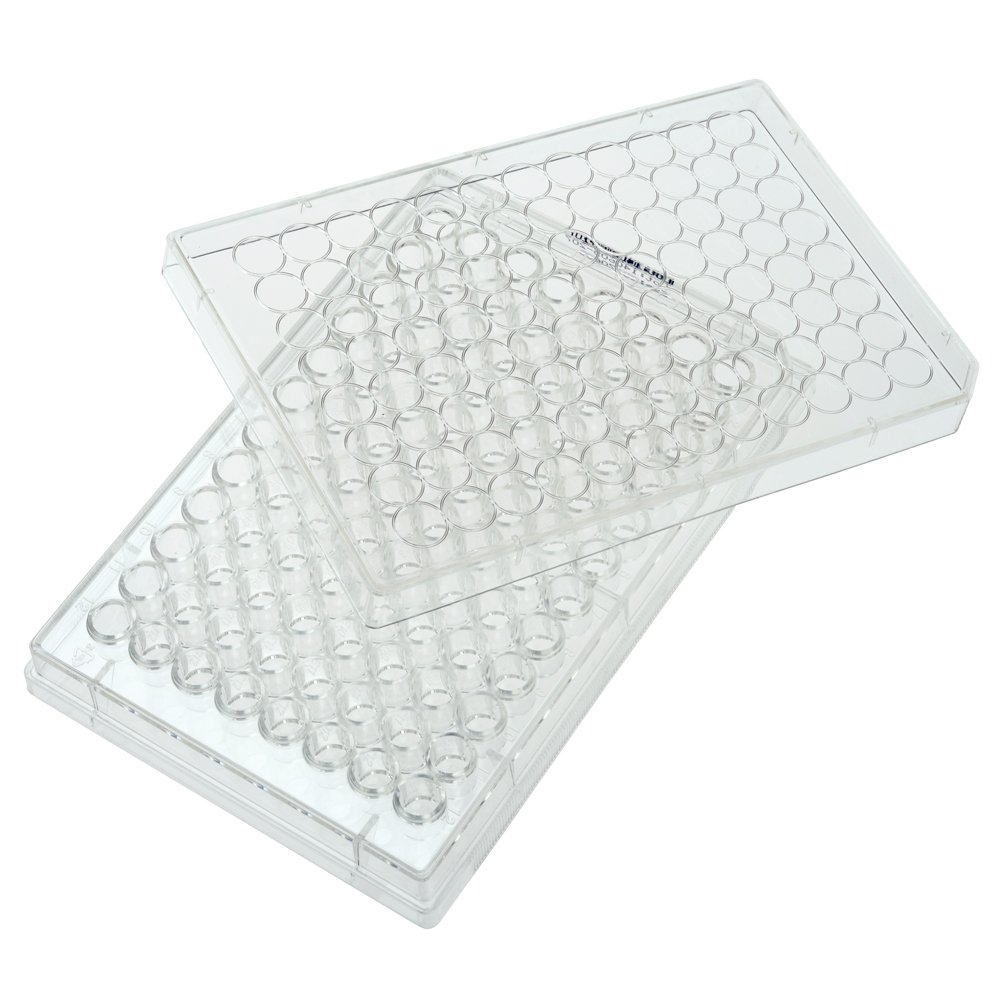 Celltreat 229590 96 Well Non-treated Plate with Lid, Round Bottom, Sterile (Case of 100)