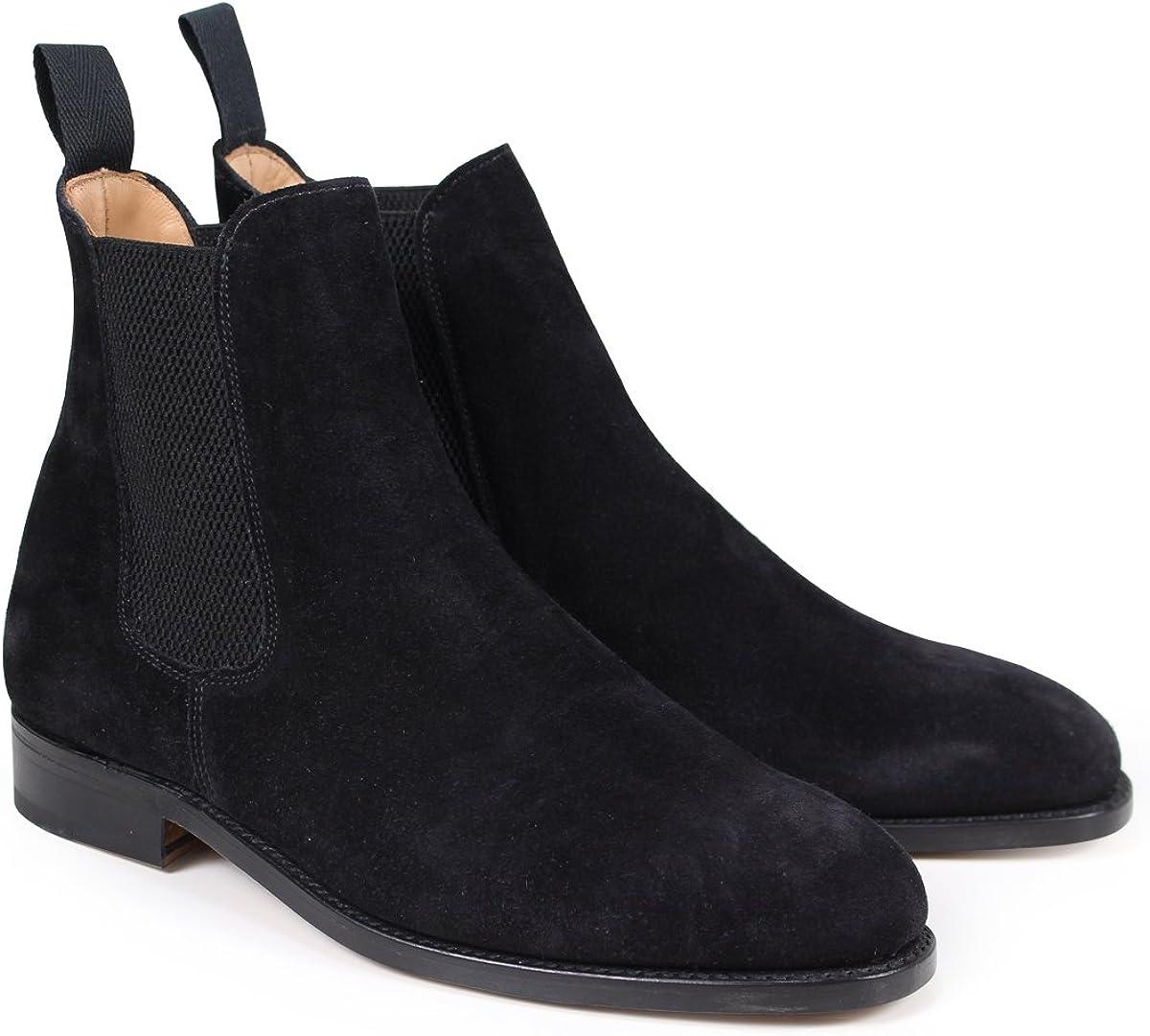[サンダース] MARYLEBONE CHELSEA BOOT サイドゴア ブーツ スエード 9903BS メンズ GB6.5-25.5 (並行輸入品)