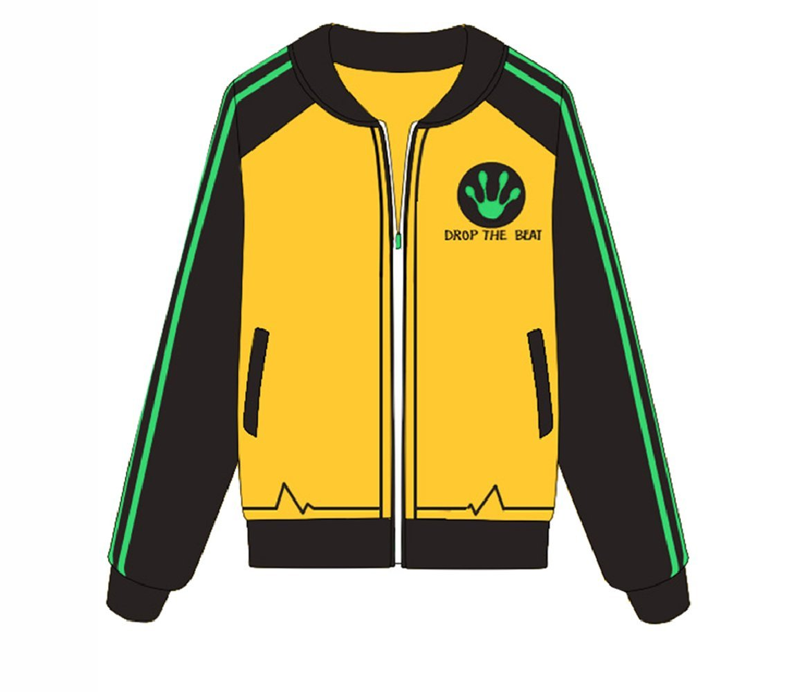TISEA Girls' Baseball Uniform DJ Lucio Diva Bunny Cosplay Costume Accessories (US M=Asian L, Lucio Coat)