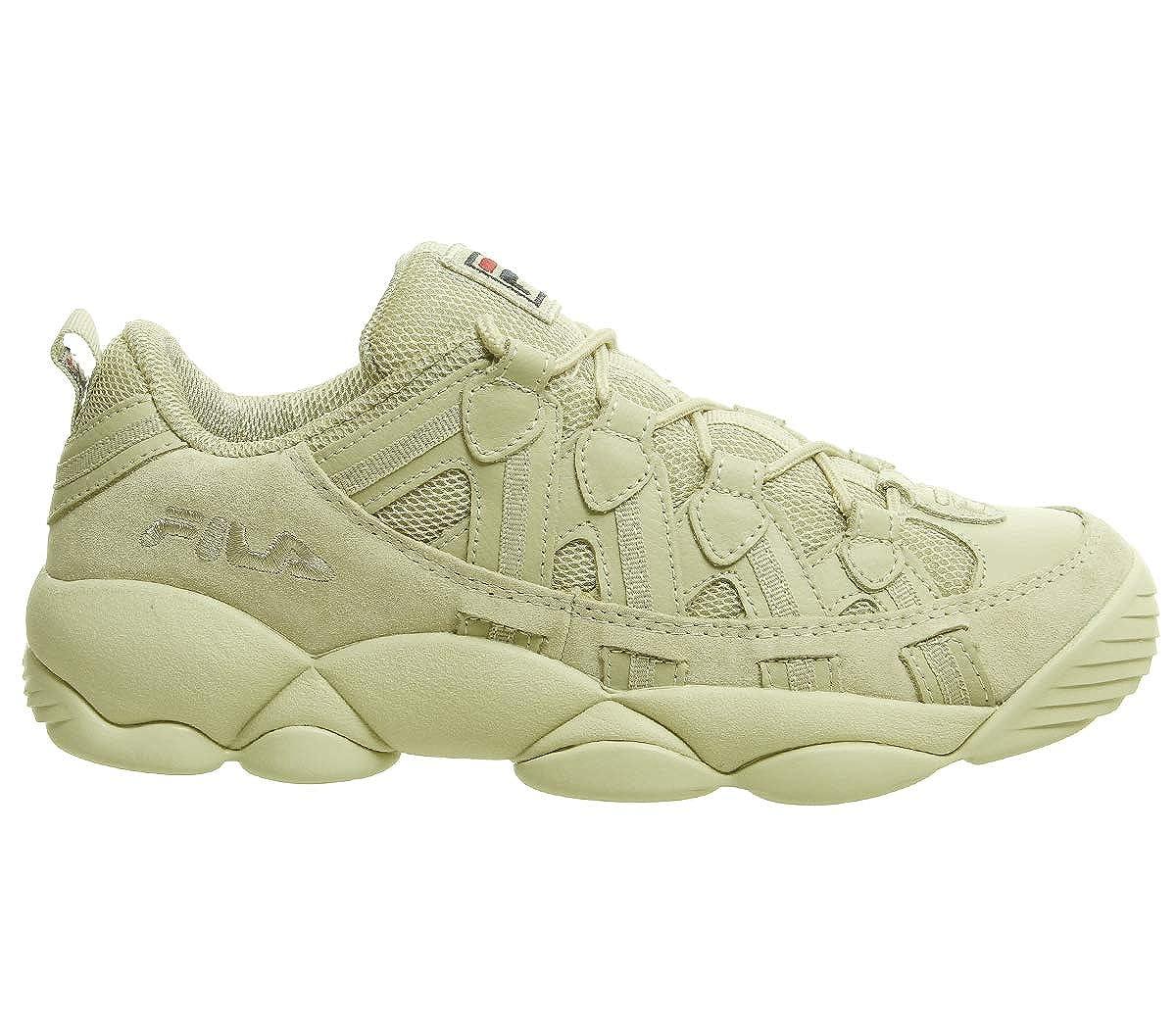 0de2936ab60d Amazon.com  Fila Spaghetti Low Cream Sneakers-UK 10  Shoes
