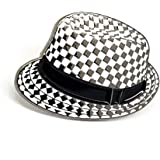 POP ROCK AND ROLL SKA PORKPIE CHECKERS HAT REGGAE MADNESS MOD SCOOTER Metal Enamel Pin Badge Brooch | High Quality Metal Enamel Pin Badge Lapel Brooch Novelty Collectable Gift Jewellery for Clothes Shirt Jackets Coats Tie Hats Caps Bags Backpacks