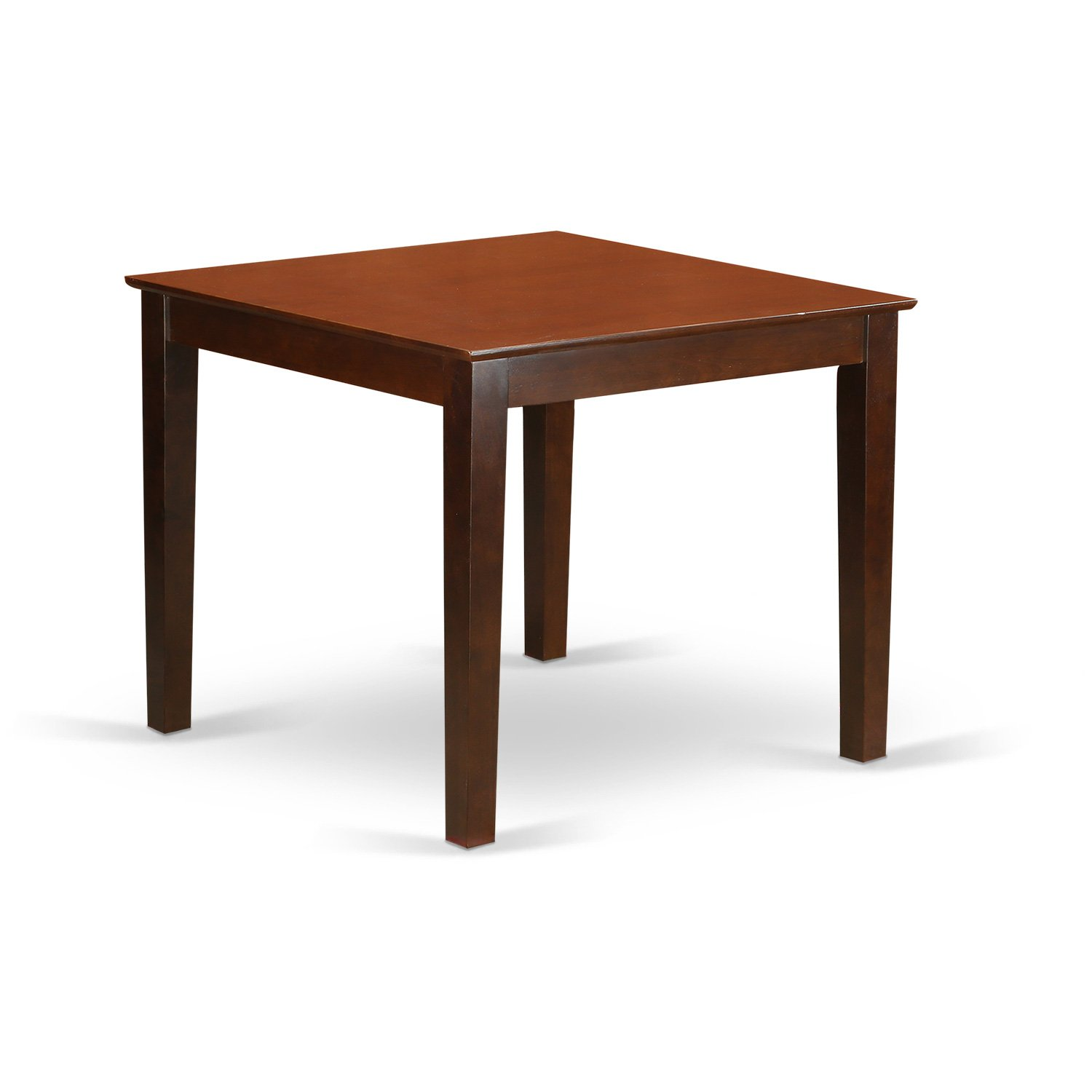 East West Furniture OXT-MAH-T Oxford Square Dining Table