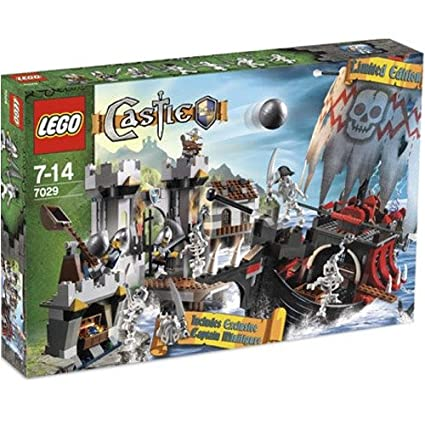 Amazoncom Lego Castle Exclusive Set Skeleton Ship Attack With
