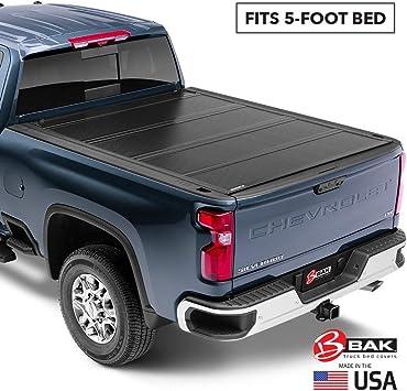 Amazon Com Bak Bakflip G2 Hard Folding Truck Bed Tonneau Cover 226107 Fits 1993 2004 Gm S 10 Sonoma 4 7 Bed 55 2 Automotive