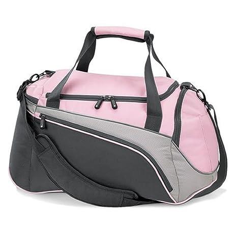 ddb2d833b6cd Ladies sports bag womens gym bags sports holdalls gym duffel bags (Pink)