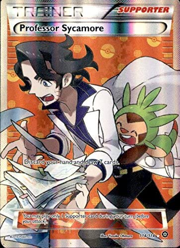 Pokemon - Professor Sycamore (114/114) - XY Steam Siege