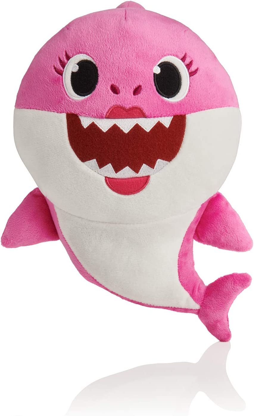 Baby Shark Official Singing Plush English Music Doll Baby Shark doo doo doo doo