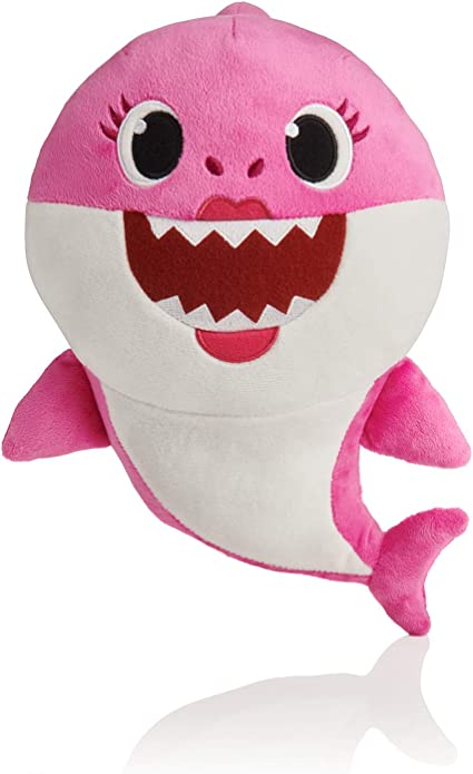 WowWee Pinkfong Baby Shark Official Song Doll MommynShark Pink Free Shipping