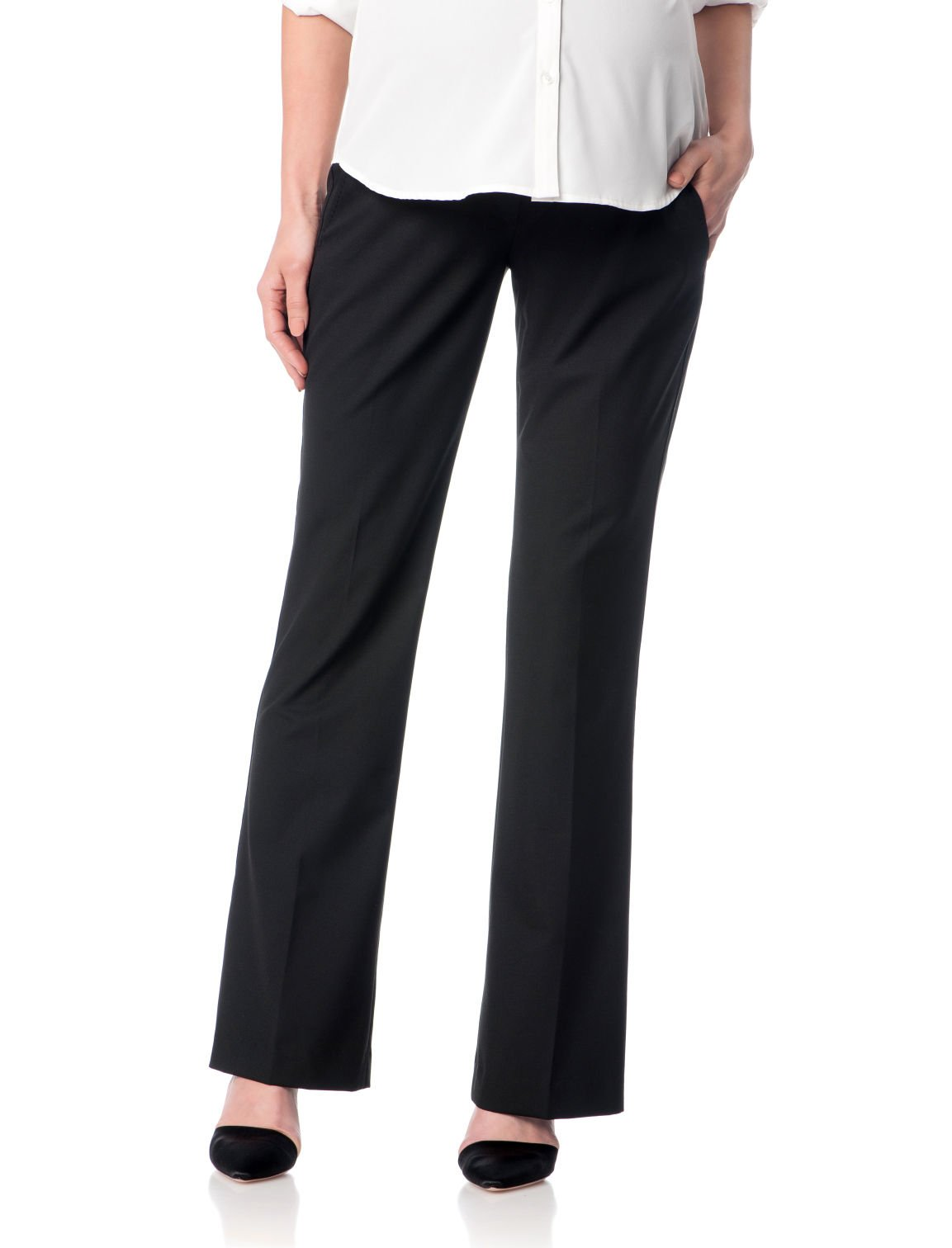 A Pea in the Pod Bi-Stretch Suiting Bootcut Maternity Pants