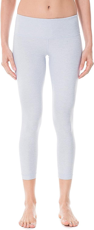 Roberoody Flexible Womens Running Tights Flex Capris Leggings Yoga Pants with Pockets