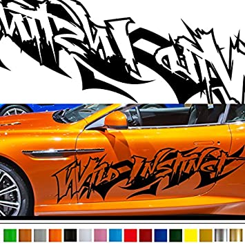 Amazoncom Tribal Car Sticker Car Vinyl Side Graphics Car - Car vinyl decals custom