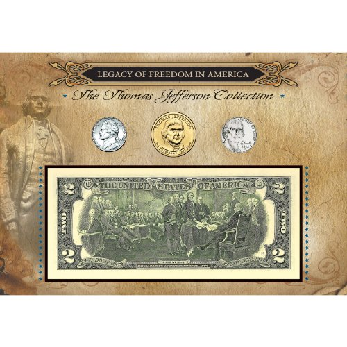 American Coin Treasures Legacy of Freedom Thomas Jefferson Collection