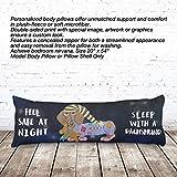 VOTANTA - Dachshund Sleep Body Pillows (Body Pillow 100% Microfiber, 20x54'')