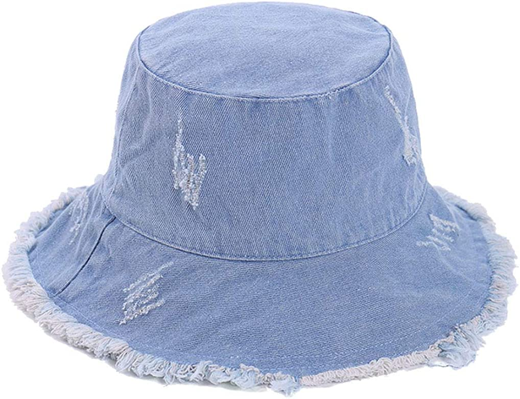 Denim Bucket-Hat...