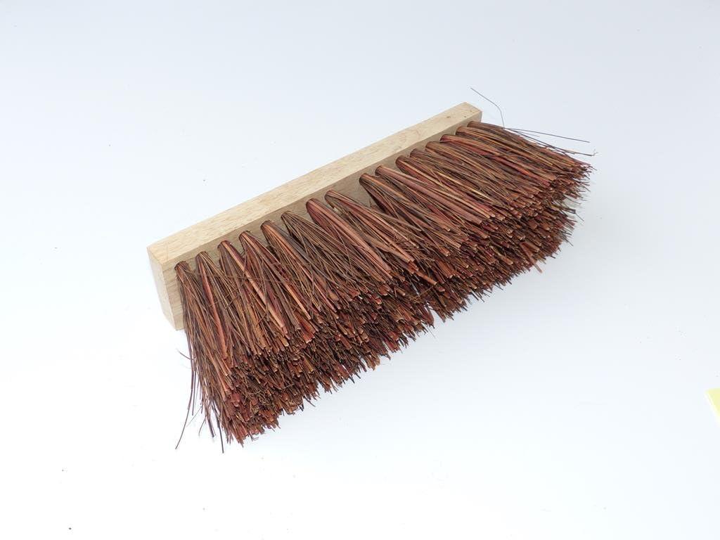 mit Palmyra Fasern kokosfaser Industriebesen Besen Stra/ßenbesen 5,99/€//St/ück 50cm lang
